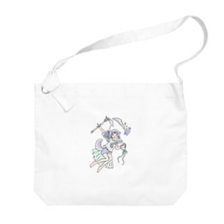 magic girl Big shoulder bags