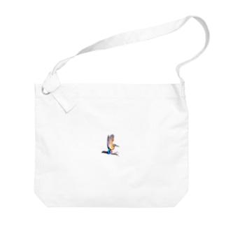 カワセミワンポイント Big shoulder bags