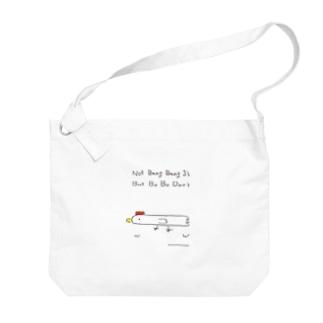 棒棒鶏のショルダーバッグ Big shoulder bags