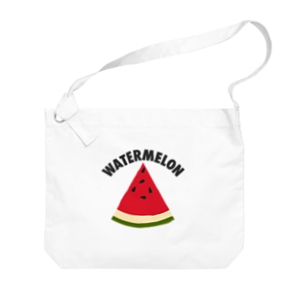 WATERMELON 扇形 Big shoulder bags