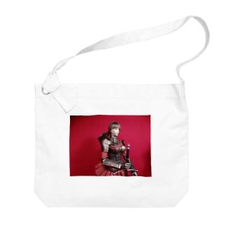 人形写真:美少女戦士 Doll picture: Pretty warrior Big shoulder bags