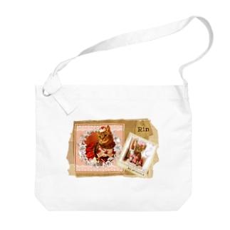 りんちゃん*色合合わせver Big Shoulder Bag