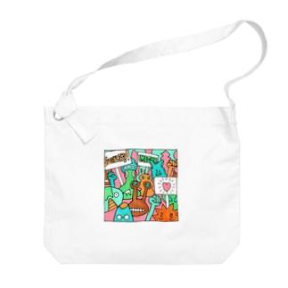 毎日イラストセレクション No.002 Big shoulder bags
