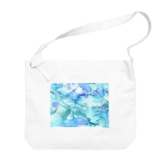 寒中遊泳 Big Shoulder Bag