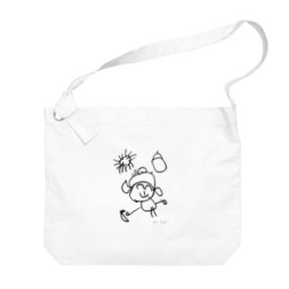 蘭ちゃんの女の子 Big shoulder bags