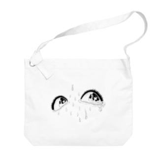 泥の瞳 Big shoulder bags
