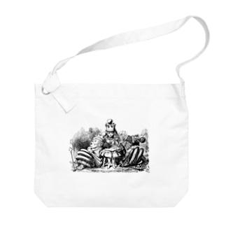 鏡の国のアリス 女王アリス Big shoulder bags
