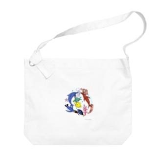 大介の水族館 Big shoulder bags