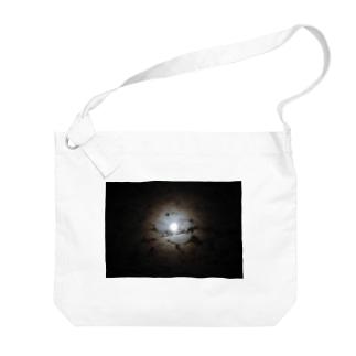 月夜 Big shoulder bags