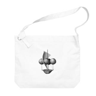 飛行船 Big shoulder bags