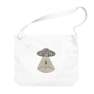 UFOから宇宙人 Big Shoulder Bag