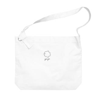 マンボウ Big shoulder bags