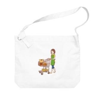 節子のお買いもの Big shoulder bags