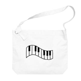 ピアノ Big shoulder bags