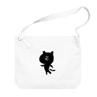 筆猫-fudeneko- Big shoulder bags