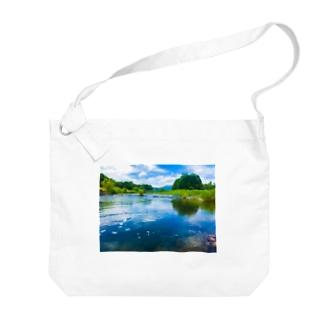 荒川(in栃木) Big Shoulder Bag