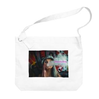 Smoke Girls 01 Big shoulder bags