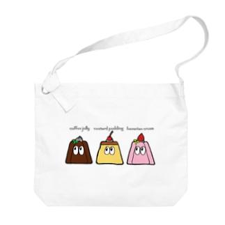 デザート/モンスター Big shoulder bags