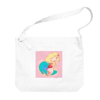 カスタMy's_ヘンテ娘_夢の娘 Big shoulder bags