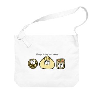 中華/モンスター Big shoulder bags