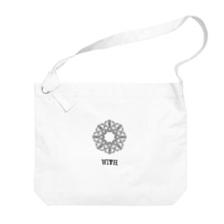 WITH/WISH Big shoulder bags