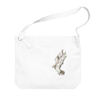 ハト Big shoulder bags