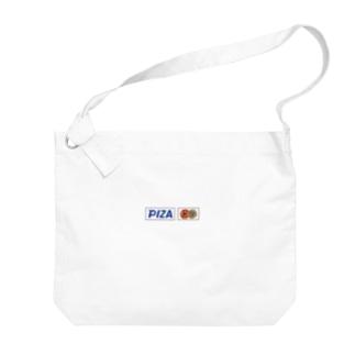 PIZA Big shoulder bags
