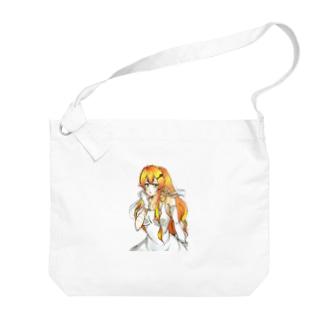秋野おちばちゃん♡ Big shoulder bags