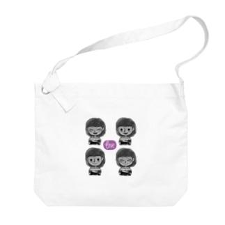 いろいろノビィ Big shoulder bags