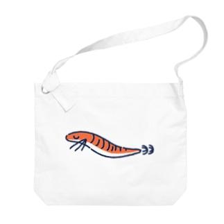 エギちゃん Big shoulder bags