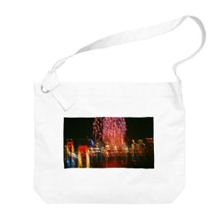 お台場の絶景 Big shoulder bags