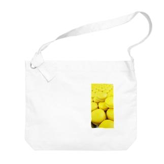無限マカロン Big shoulder bags