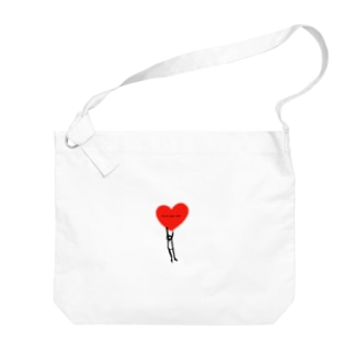 cry to your love Big shoulder bags