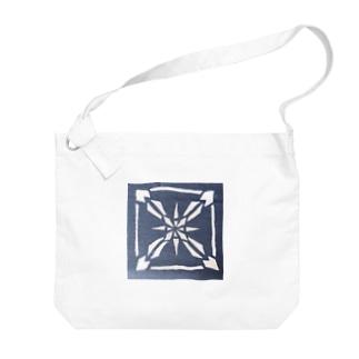 雪ノ結晶 シカク Big shoulder bags