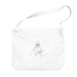 はぐ Big shoulder bags