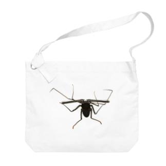 ウデムシ Big shoulder bags