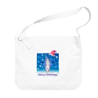 メリークリスマス Big shoulder bags
