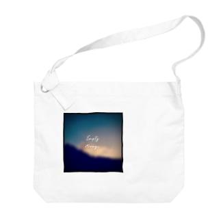 Empty storage 〜空置き場〜 Big shoulder bags
