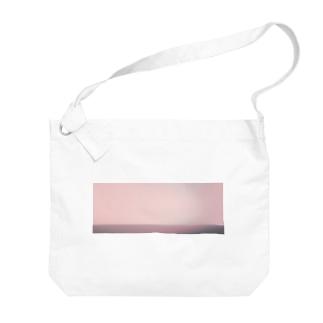 SUNSET PINK Big shoulder bags