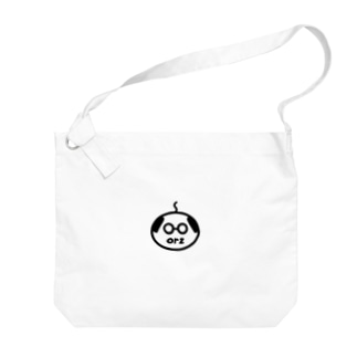 orzさん(眼鏡、修正版) Big Shoulder Bag