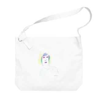 Basketball girl Big shoulder bags