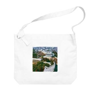 日本の城:姫路城 Japanese castle: Himeji Castle Big shoulder bags