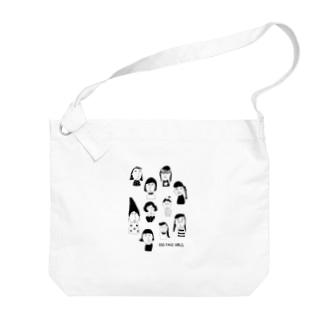 EGG FACE GIRLS Big shoulder bags
