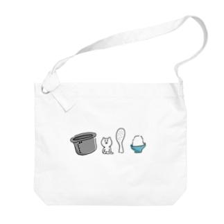 ごはんのOSHITAKU🍚 Big shoulder bags