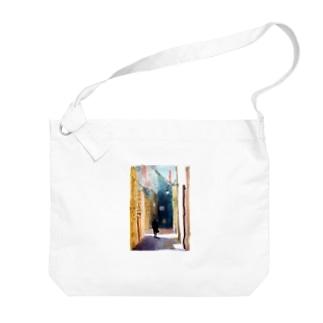 アート天音432hz Big shoulder bags
