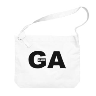 GA~我~ Big shoulder bags