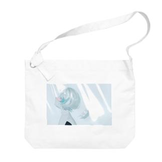 Angelic…? Big shoulder bags