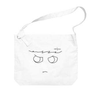 おこりんぼ Big shoulder bags