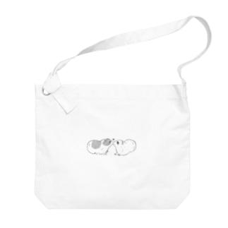 モルモット001 Big shoulder bags