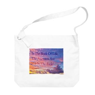 偉人の名言×OKINAWA Big shoulder bags